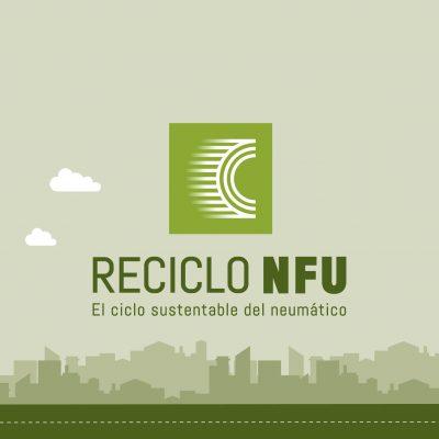 RECICLO NFU – Diseño de marcas. Eventos