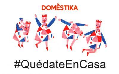 Cursos de Domestika para #QuédateEnCasa