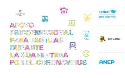 Guía de apoyo psicoemocional para las familias durante la cuarentena por el coronavirus