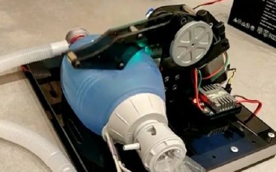 Recolección de residuos electrónicos para construcción de respiradores en Uruguay